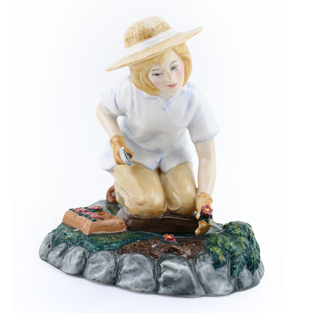 Gardening Time HN3401 - Royal Doulton Figurine