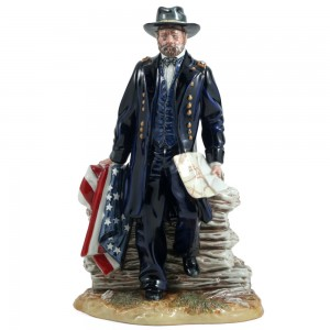 Lt. General Ulysses Grant HN3403 - Royal Doulton Figurine