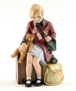 Girl Evacuee HN3203 - Royal Doulton Figurine