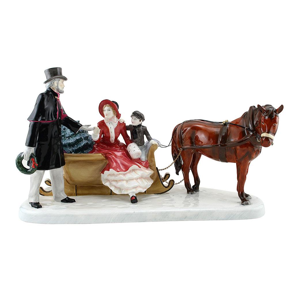Glad Tidings HN5130 - Royal Doulton Figurine