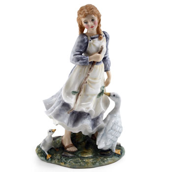 The Goose Girl HN2419 (Factory Sample) - Royal Doulton Figurine