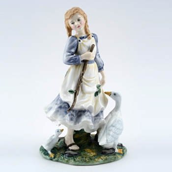 Goose Girl HN2419 - Royal Doulton Figurine