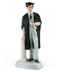 Graduate (Male) HN3017 - Royal Doulton Figurine