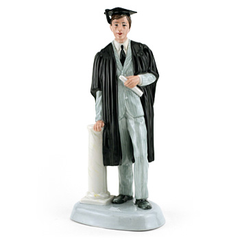 Graduate (Male) HN3017 - Royal Doulton Figurine
