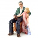 Grandpa's Story HN3456 - Royal Doulton Figurine