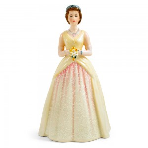 HM Queen Elizabeth II HN3440 - Royal Doulton Figurine