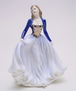 Happy Anniversary Blue HN4604 - Royal Doulton Figurine