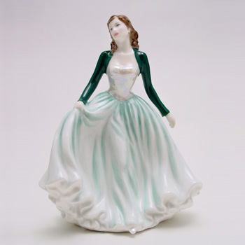 Happy Anniversary Green HN4605 - Royal Doulton Figurine
