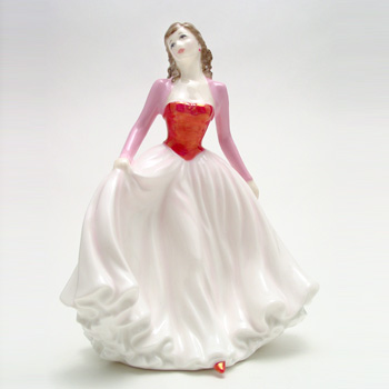 Happy Anniversary Pink HN4606 - Royal Doulton Figurine