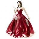 Happy Birthday 2008 HN5117 - Royal Doulton Figurine