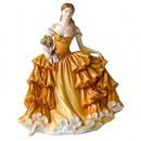 Happy Birthday 2009 HN5249 - Royal Doulton Figurine