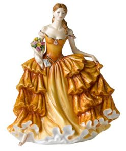 Happy Birthday 2009 HN5249 - Royal Doulton Figurine