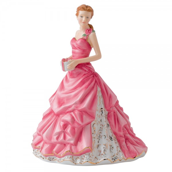 Happy Birthday HN5542 - 2012 Royal Doulton - Figure of the Year 1