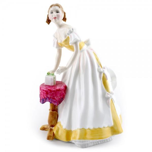 Happy Birthday HN3095 - Royal Doulton Figurine