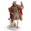 Henry VIII HN3350 - Royal Doulton Figurine