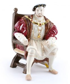 Henry VIII (Wedgwood Figure) - Royal Doulton Figurine