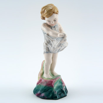 Here a Little Child HN4428 - Royal Doulton Figurine