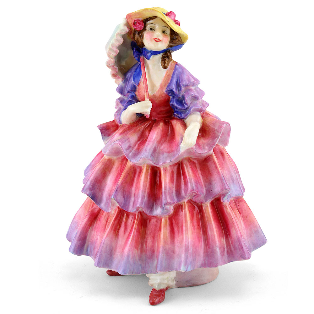 Hinged Parasol HN1579 - Royal Doulton Figurine