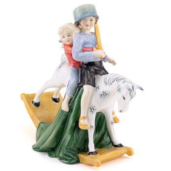Hold Tight HN3298 - Royal Doulton Figurine 1