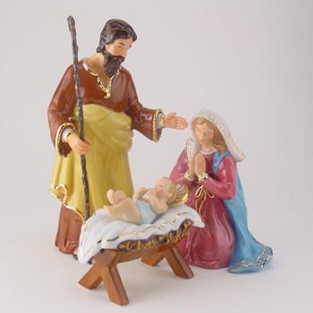 Holy Family Set Nativity Series - Royal Doulton Figurine