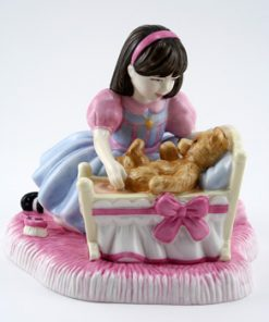 Hush A Bye Teddy CH4 - Royal Doulton Figurine
