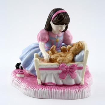 Hush A Bye Teddy CH4 - Royal Doulton Figurine