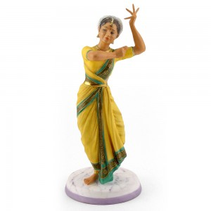 Indian Temple Dancer HN2830 - Royal Doulton Figurine