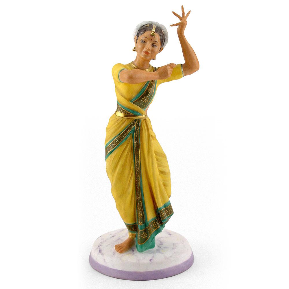 Indian Temple Dancer HN2830 - Royal Doulton Figurine