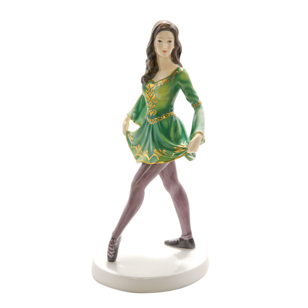 Irish Celtic Dance HN5569 - Royal Doulton Figurine