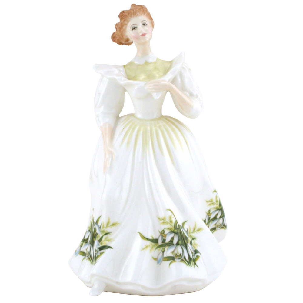 January HN2697 - Royal Doulton Figurine