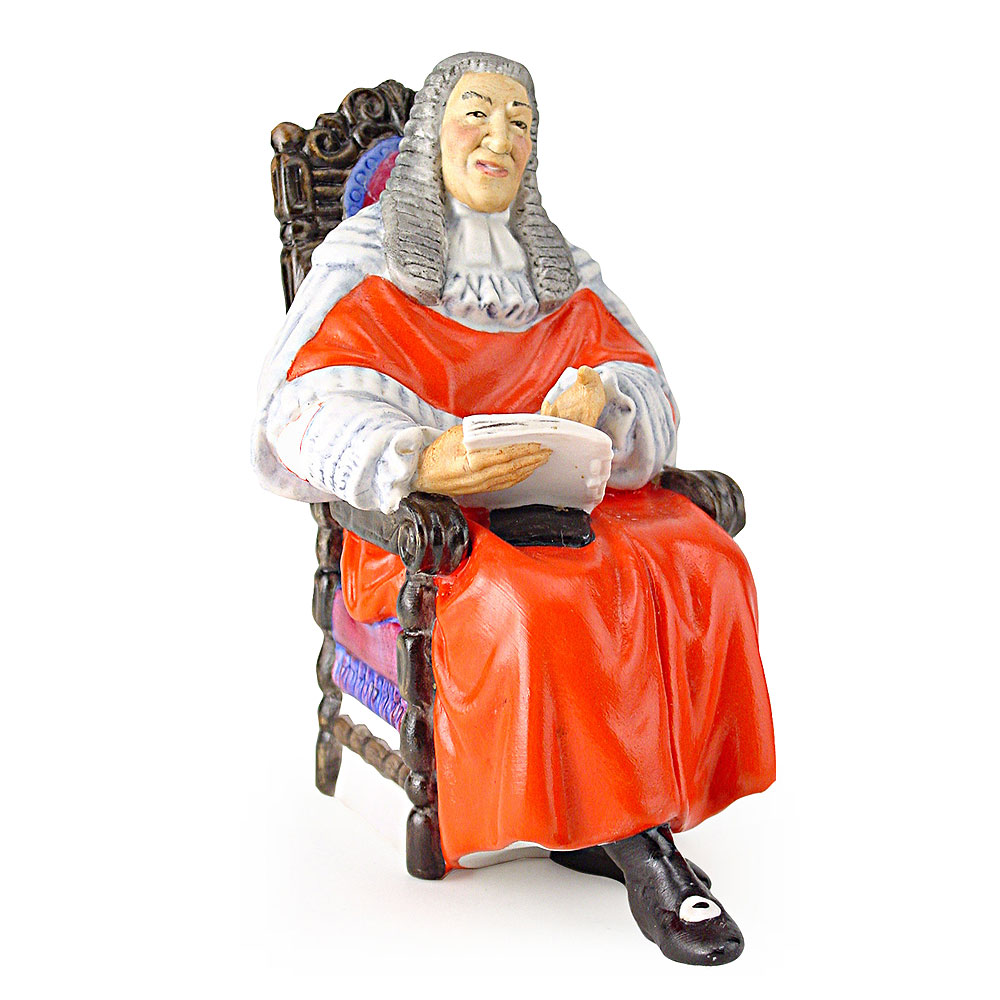 Judge HN2443 (Matte) - Royal Doulton Figurine