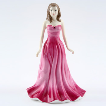 July HN4976 (Ruby) - Royal Doulton Figurine