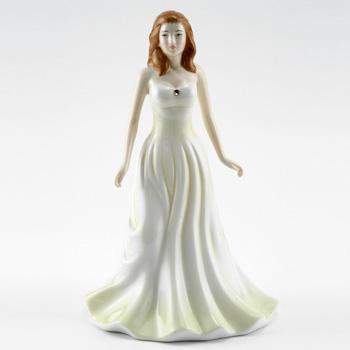 June HN4975 (Pearl) - Royal Doulton Figurine