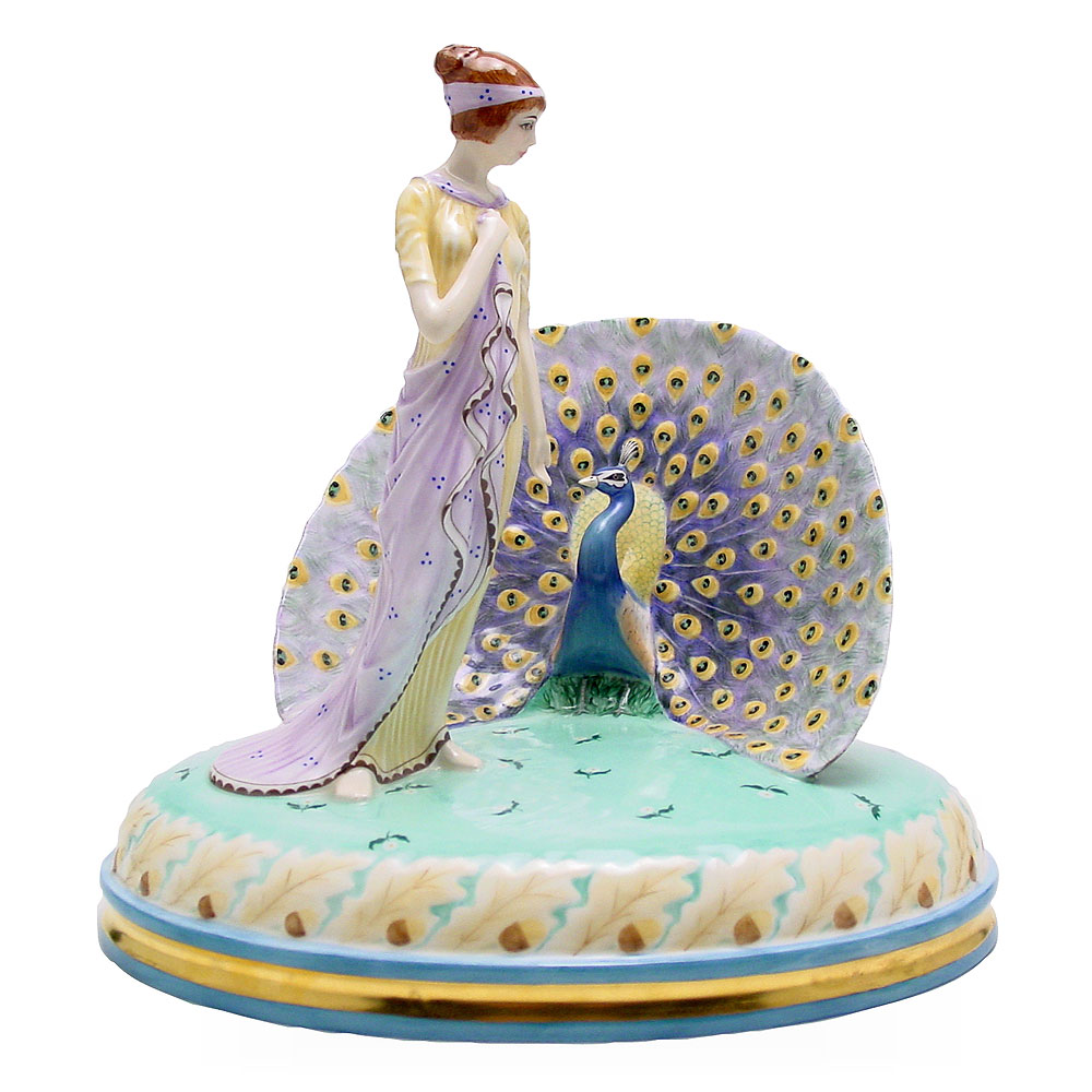 Juno and the Peacock HN2827 - Royal Doulton Figurine