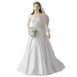 Catherine Royal Wedding Day HN5559 - Royal Doulton Figurine