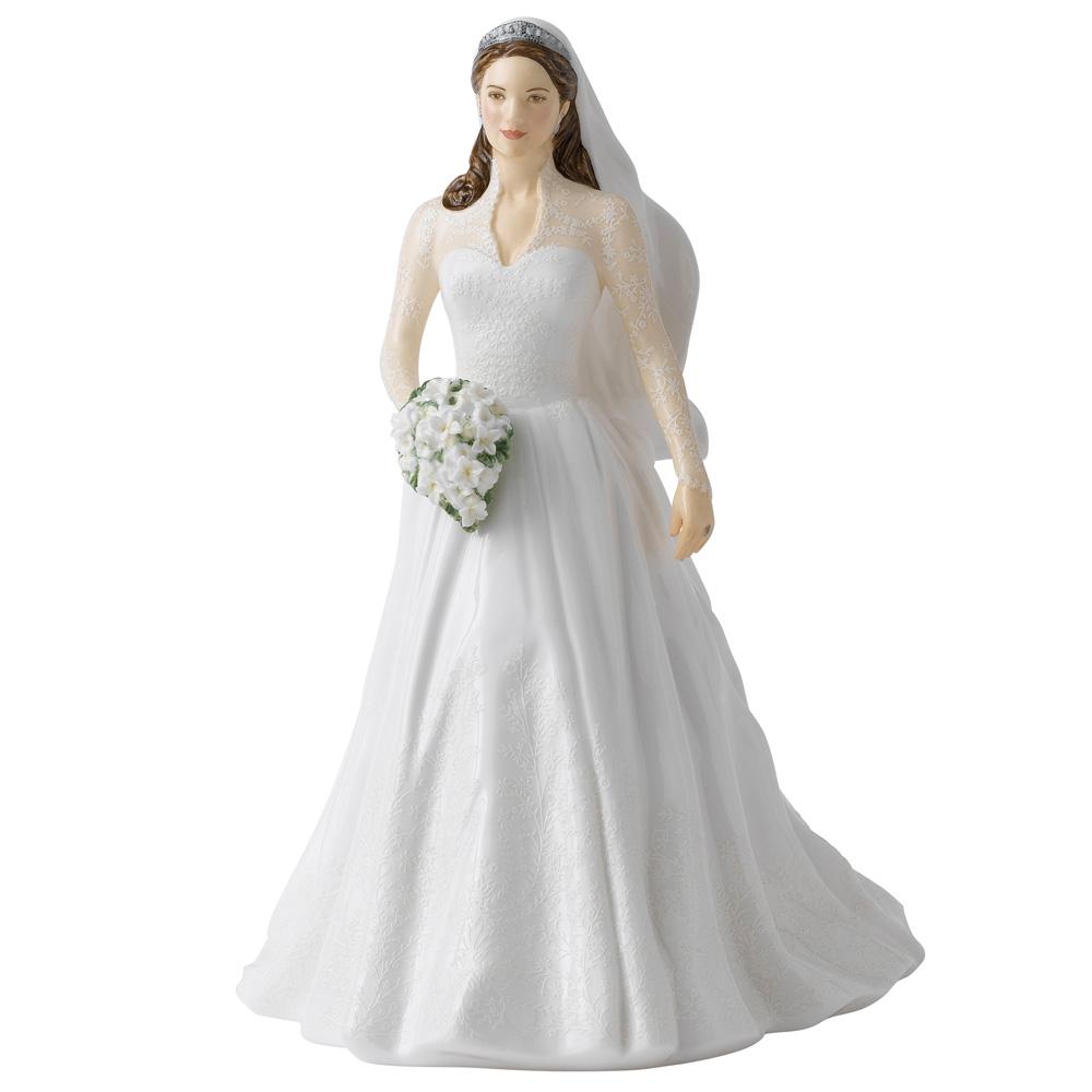 Catherine Royal Wedding Day HN5559 - Royal Doulton Figurine