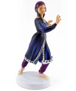 Kurdish Dancer HN2867 - Royal Doulton Figurine