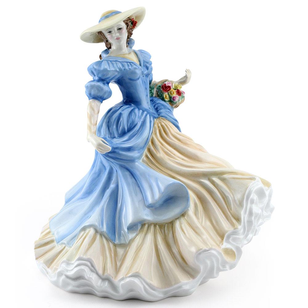 Lady Anna Louise HN4966 - Royal Doulton Figurine