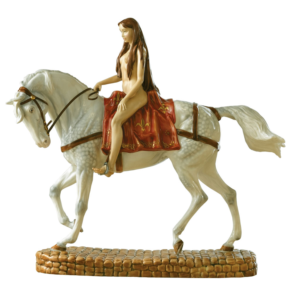 Lady Godiva HN4641 - Royal Doulton Figurine