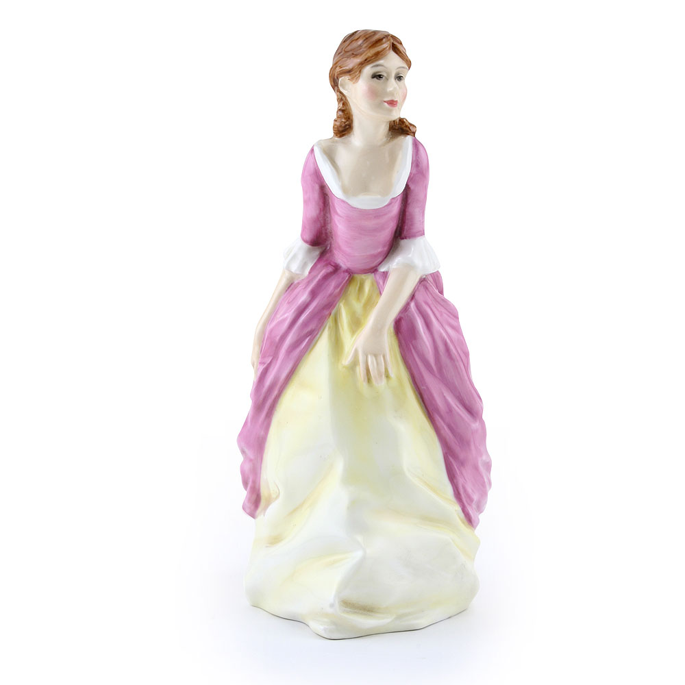 Lady Ivy Cottage PTP - Royal Doulton Figurine