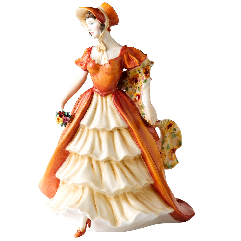 Lady Victoria May HN5131 - Royal Doulton Figurine