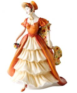 Lady Victoria May HN5131 - 2008 Presitge Figure of the Year - Royal Doulton Figurine