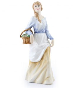 Lady with Fruit Basket PTP - Royal Doulton Figurine