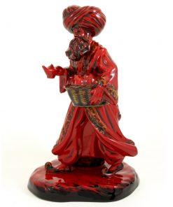 Lamp Seller HN3278 (Flambe) - Royal Doulton Figurine