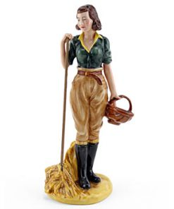 Land Girl HN4361 - Royal Doulton Figurine