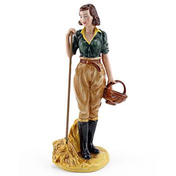 Land Girl HN4361 - Royal Doulton Figurine