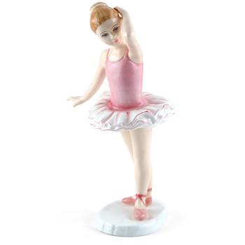Little Ballerina HN3431 - Royal Doulton Figurine