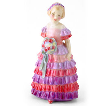 Little Bridesmaid HN1433 - Royal Doulton Figurine