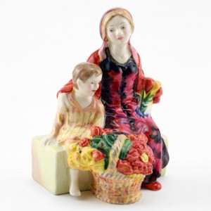The Little Mother HN4935 - Royal Doulton Figurine