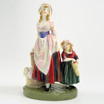 London Cry, Strawberries HN749 - Royal Doulton Figurine